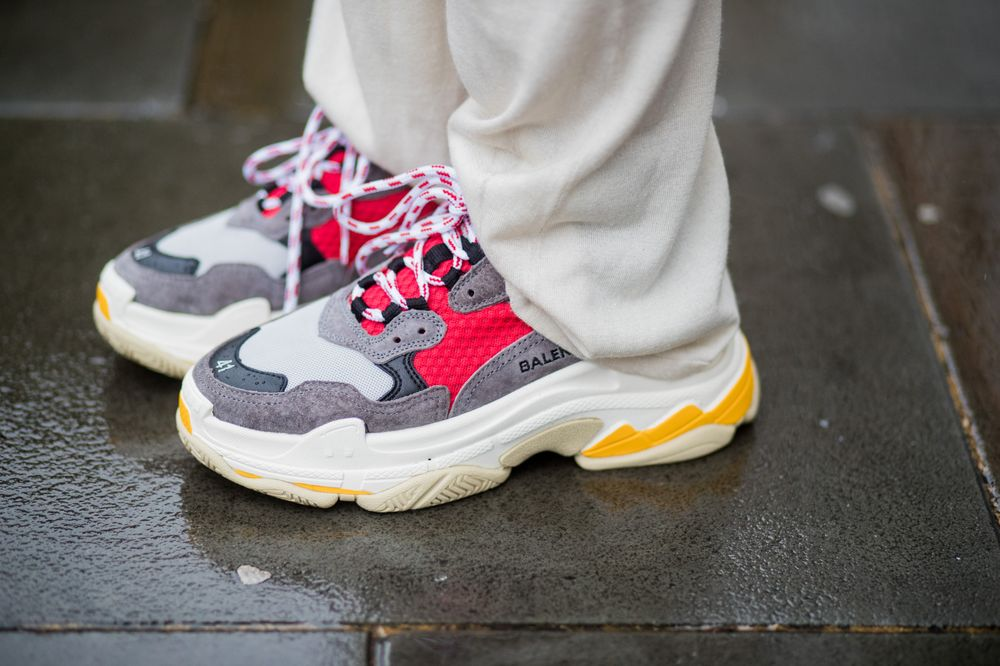 80fdd9827b6 The Clunky, Ugly Dad Shoe Gives Sneaker Makers a Swift Kick - Bloomberg