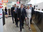Emmanuel Macron in Tokyo on June 27