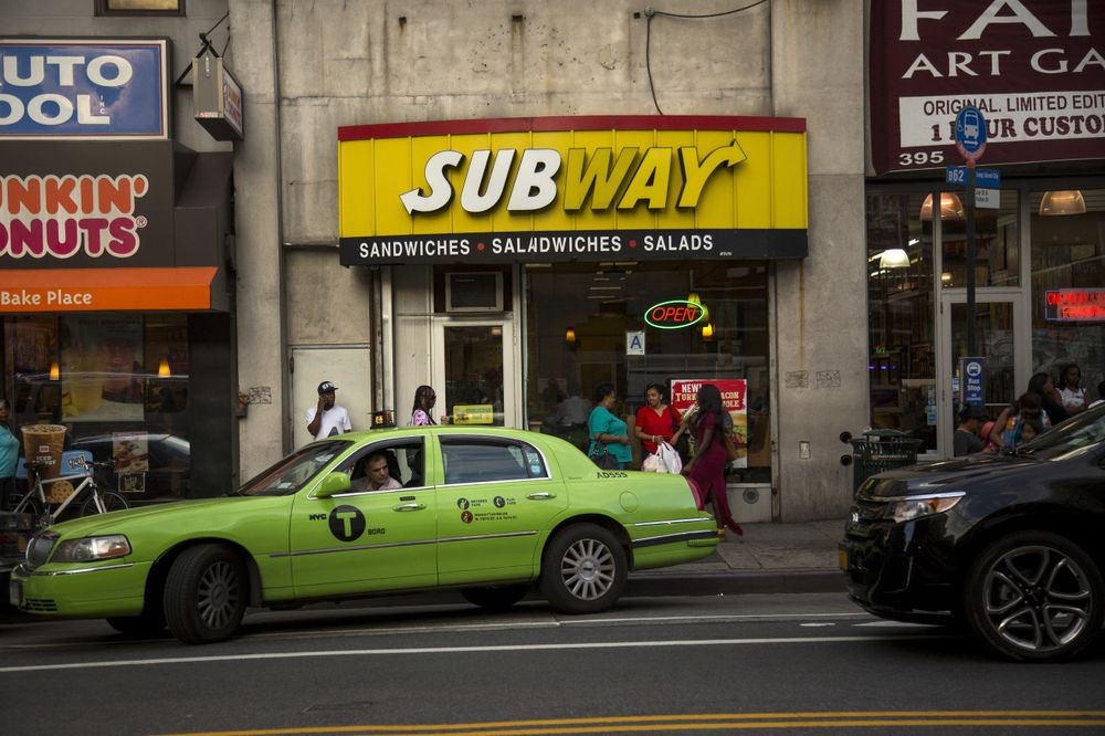 Subway Closings Accelerate as Cold-Cut Subs Don't Draw in