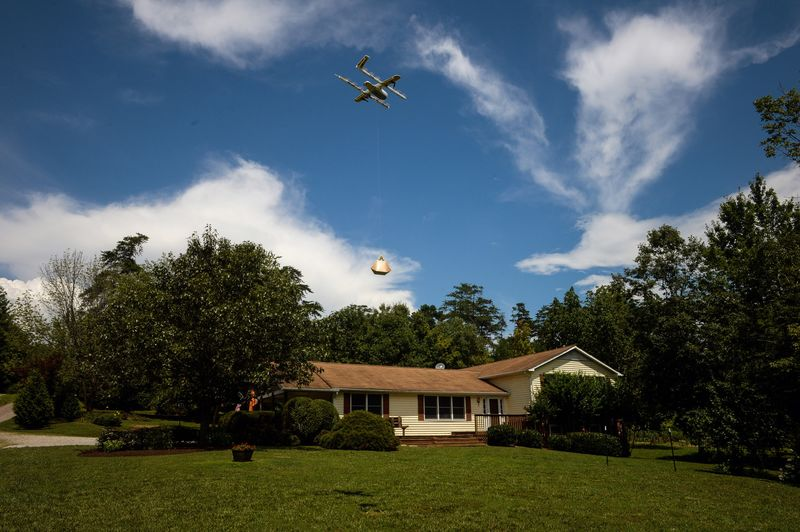 Google Demonstrates Project Wing Drone Delivery