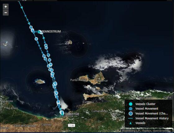 U.S. Tanker Abandons Plan to Load Venezuelan Oil and Sails Away