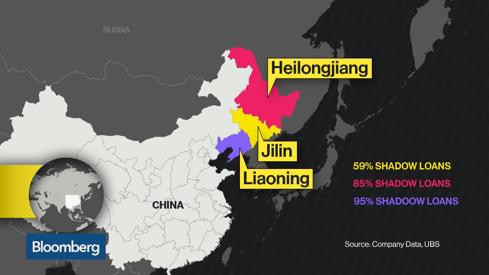 Liaoning Is China's Shadow-Banking Hotbed