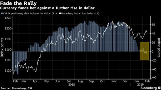 Funds Are Shorting the Dollar After Fed's Dovish Pivot