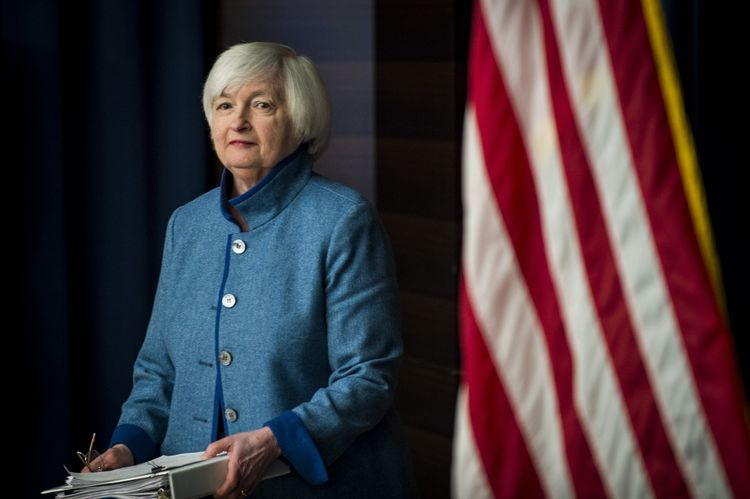 Fed Chair Janet Yellen Holds News Conference After FOMC Meeting