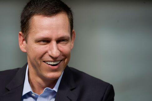 Peter Thiel in 2014.
