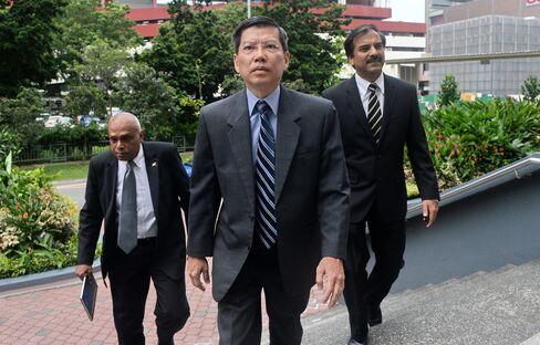 Singapore's Former Civil Defense Chief Peter Lim