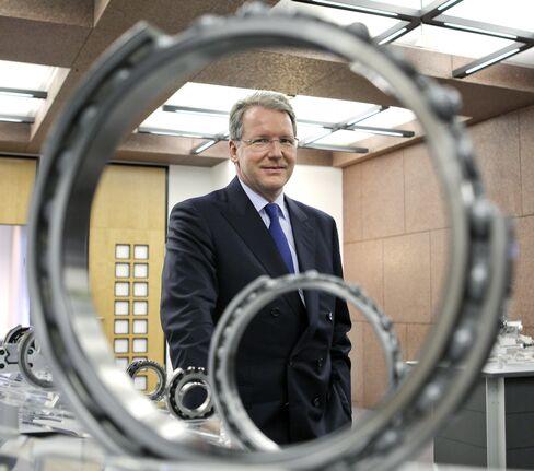 Schaeffler AG CEO Juergen Geissinger