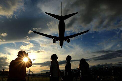Airplanes At Osaka International Airport As New Kansai International Airport Co. Plans To Select Preferred Bidders In July
