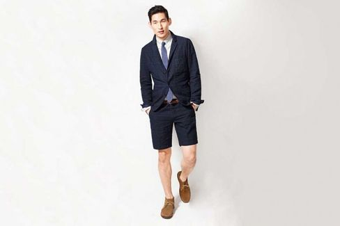 Can You Rock a Short-Suit? J.Crew Thinks So