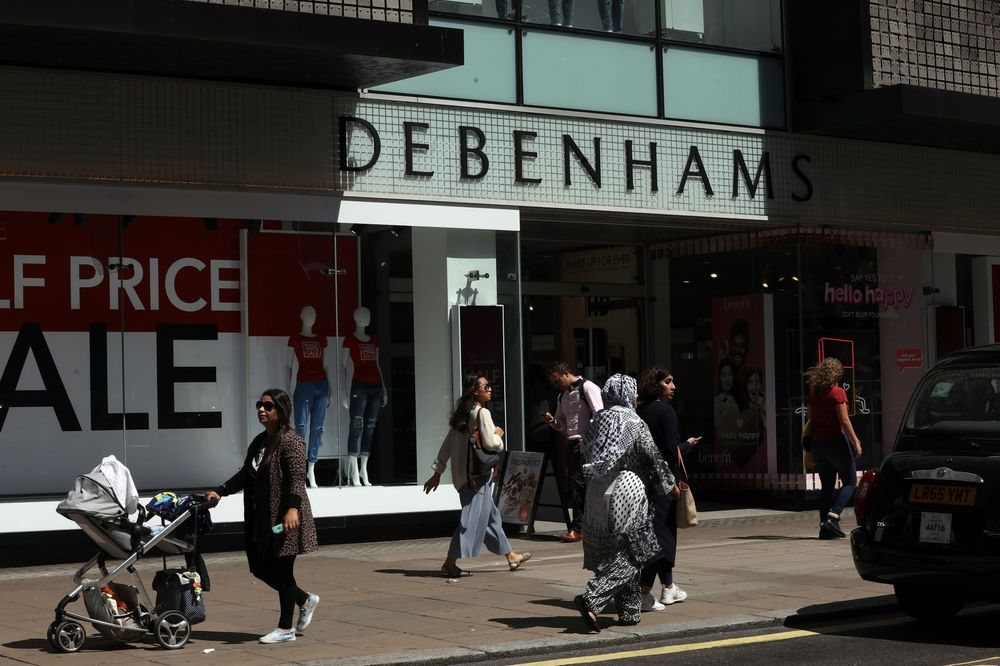 98e8d300a0b70 Debenhams Holds Talks With Landlords to Cut Store Rents, FT Says ...