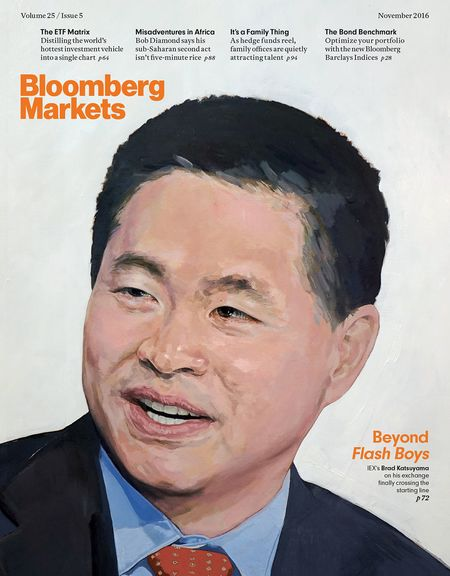 This interview appears in the November issue of Bloomberg Markets.