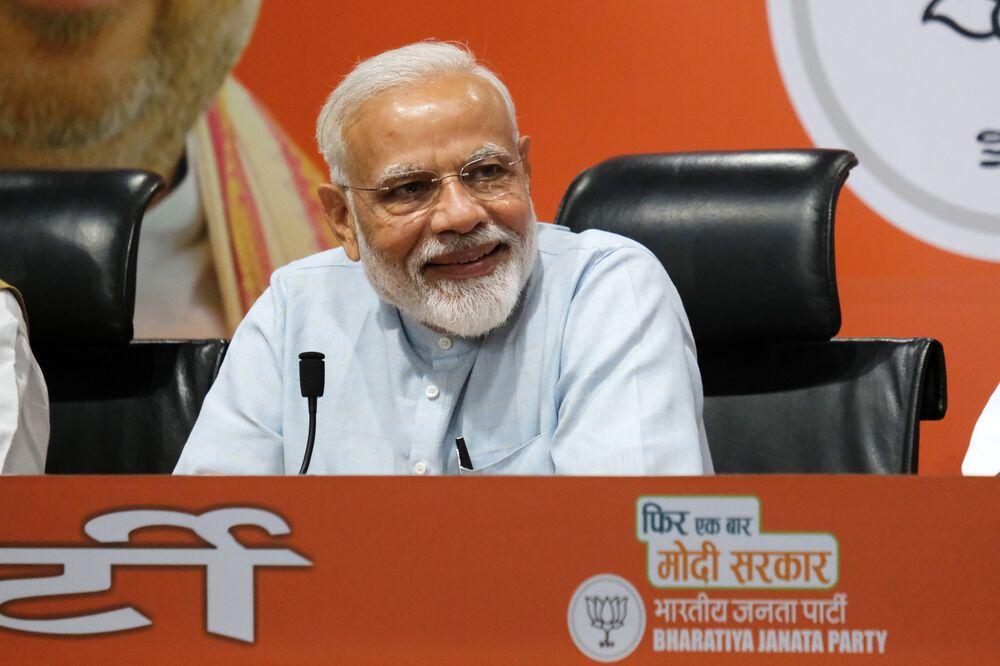 India Exit Polls Show Modi's Coalition Set to Return to Power