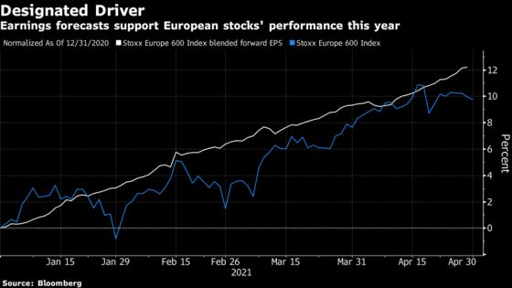 European Stocks Rise as Stellar Earnings Outweigh Supply Jitters