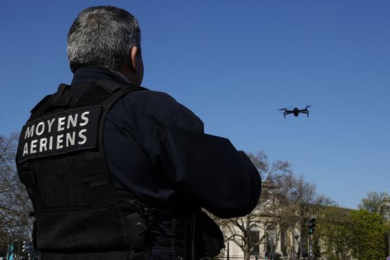 France Bans Police Camera Drones Used to Enforce Lockdown