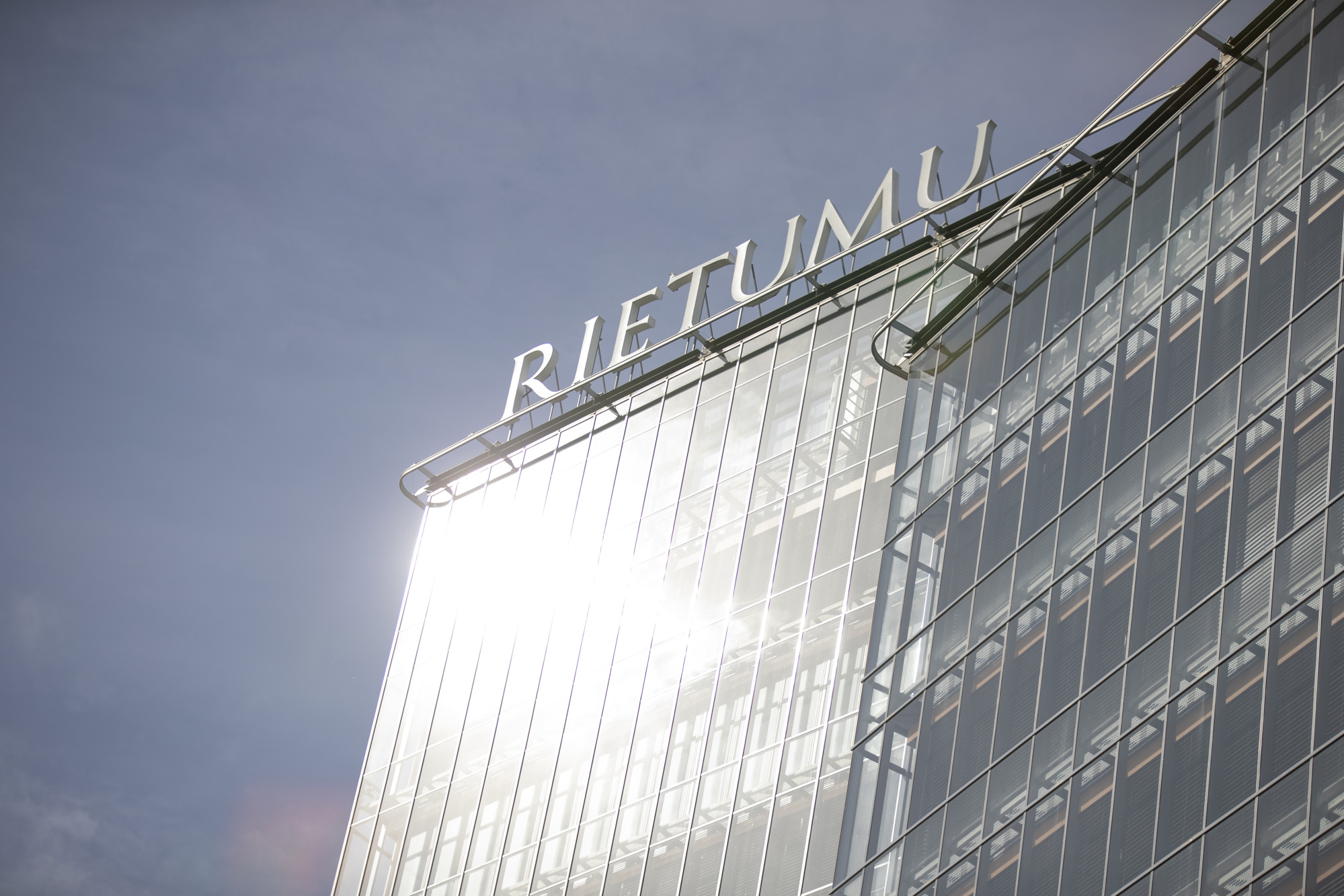 Rietumu Banka headquarters in Riga, Latvia.