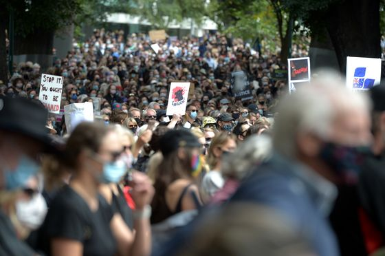 Thousands of Aussie Women Protest as Rape Scandals Hit Morrison