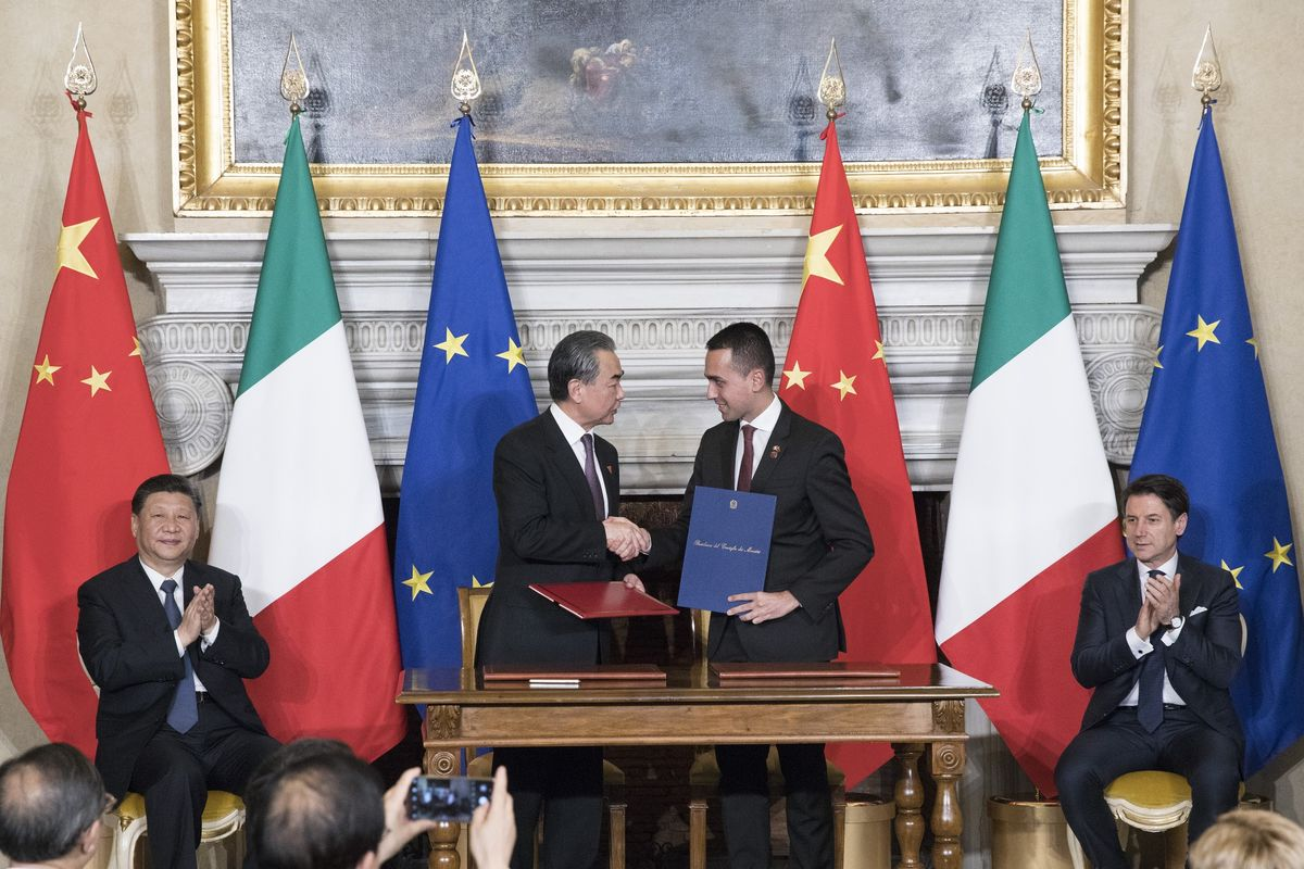 Italy's Accord With China Sparks New Clash Among Leaders in Rome