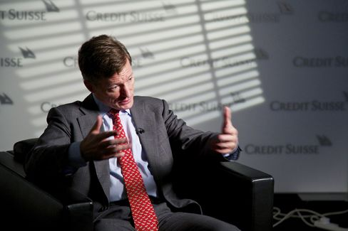 Credit Suisse Group AG Chief Executive Officer Brady Dougan
