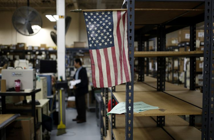 US jobs small business factory