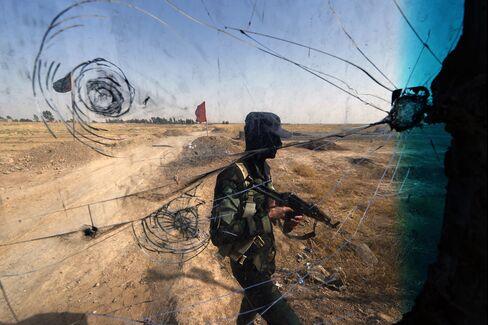 Iraqi Turkmen Fighter