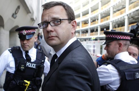 Andy Coulson Arrives At Court On July 4