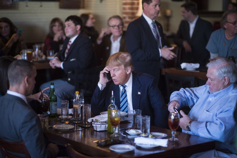 Trump's iPhone Is a Warning Sign
