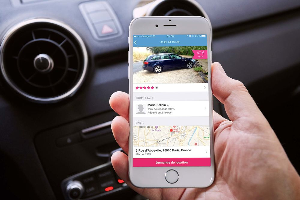 Would You Rent Your Car to a Total Stranger? - Bloomberg
