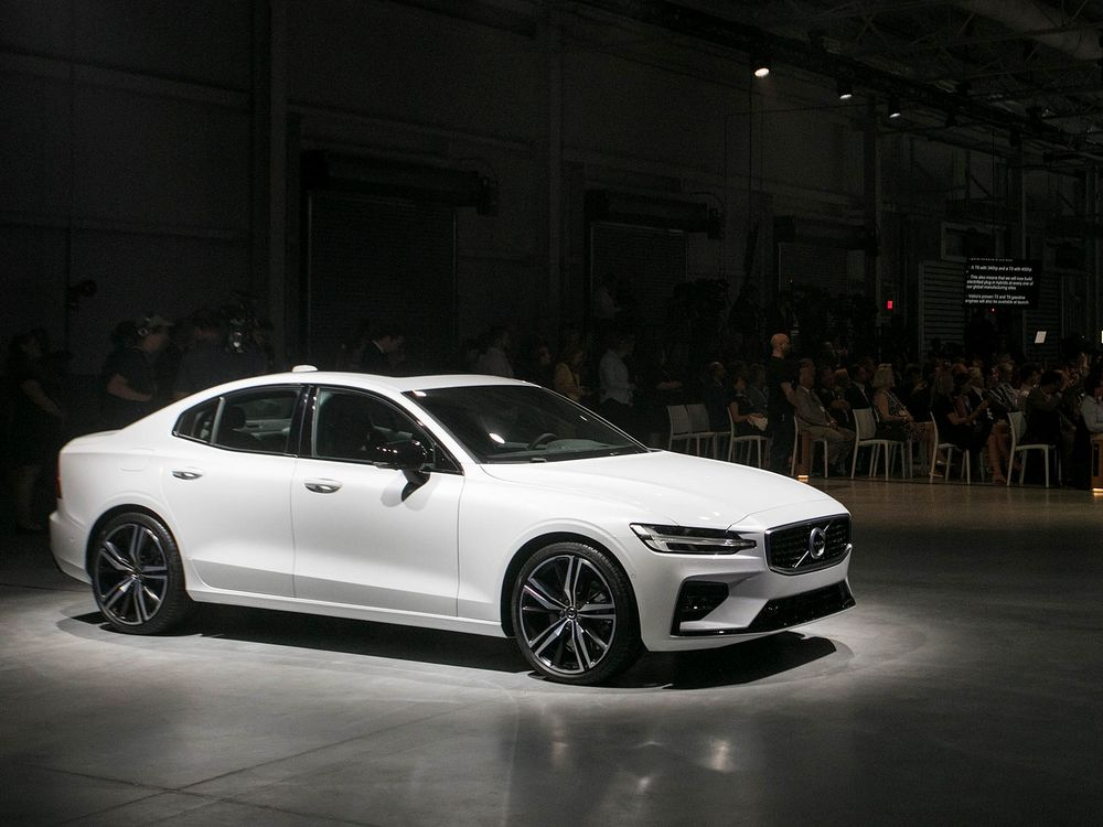 Volvo Fears For Future Of Global Trade As U S Plant Opens Bloomberg