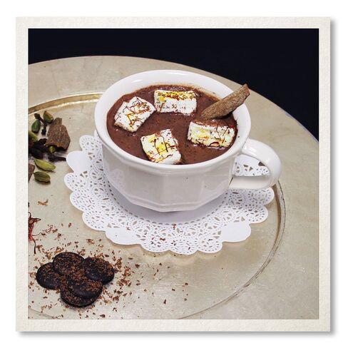 Garam Masala Hot Chocolate at Chauhan Ale & Masala House.