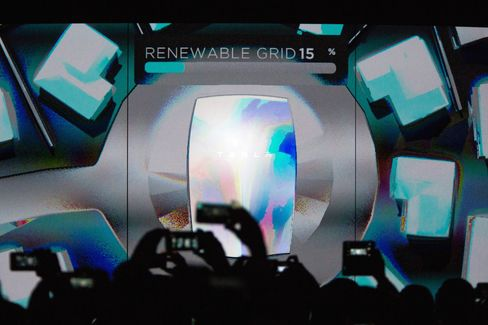 Tesla Motors Inc. Chief Executive Officer Elon Musk Unveils New Generation Of Batteries