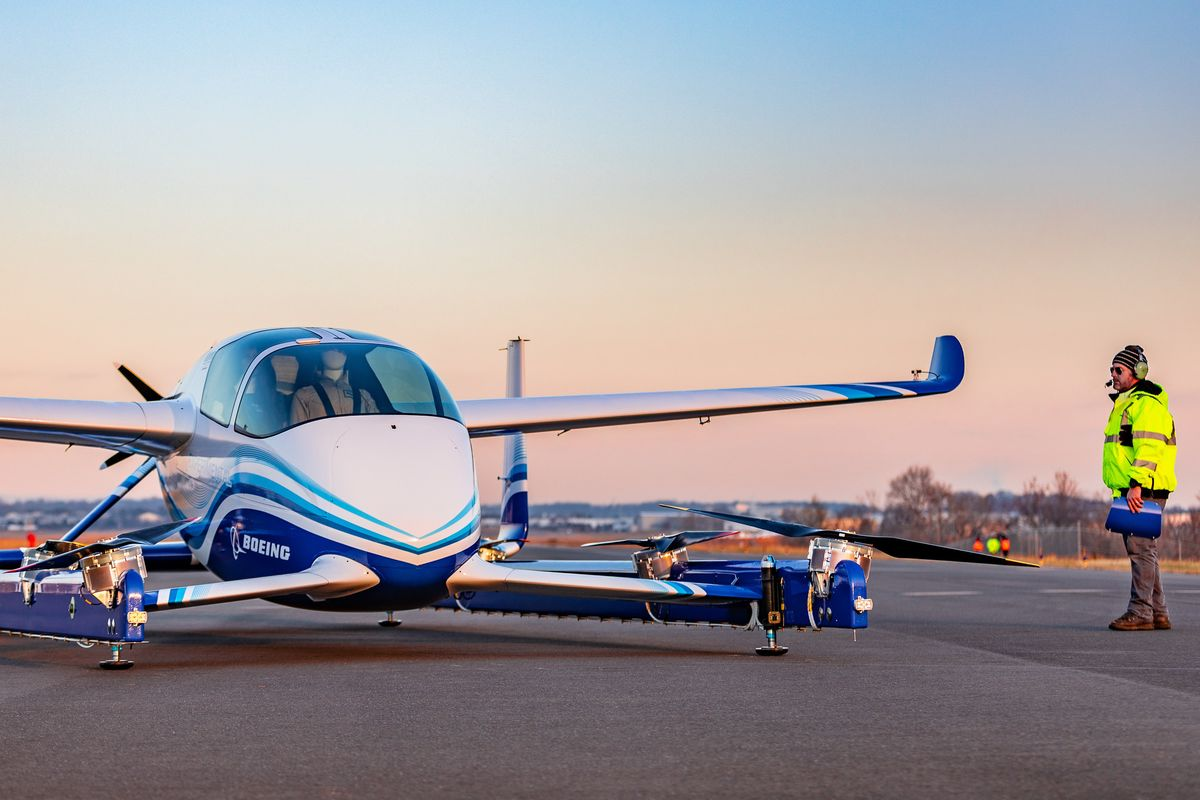 Boeing's Flying Car Has Taken Off