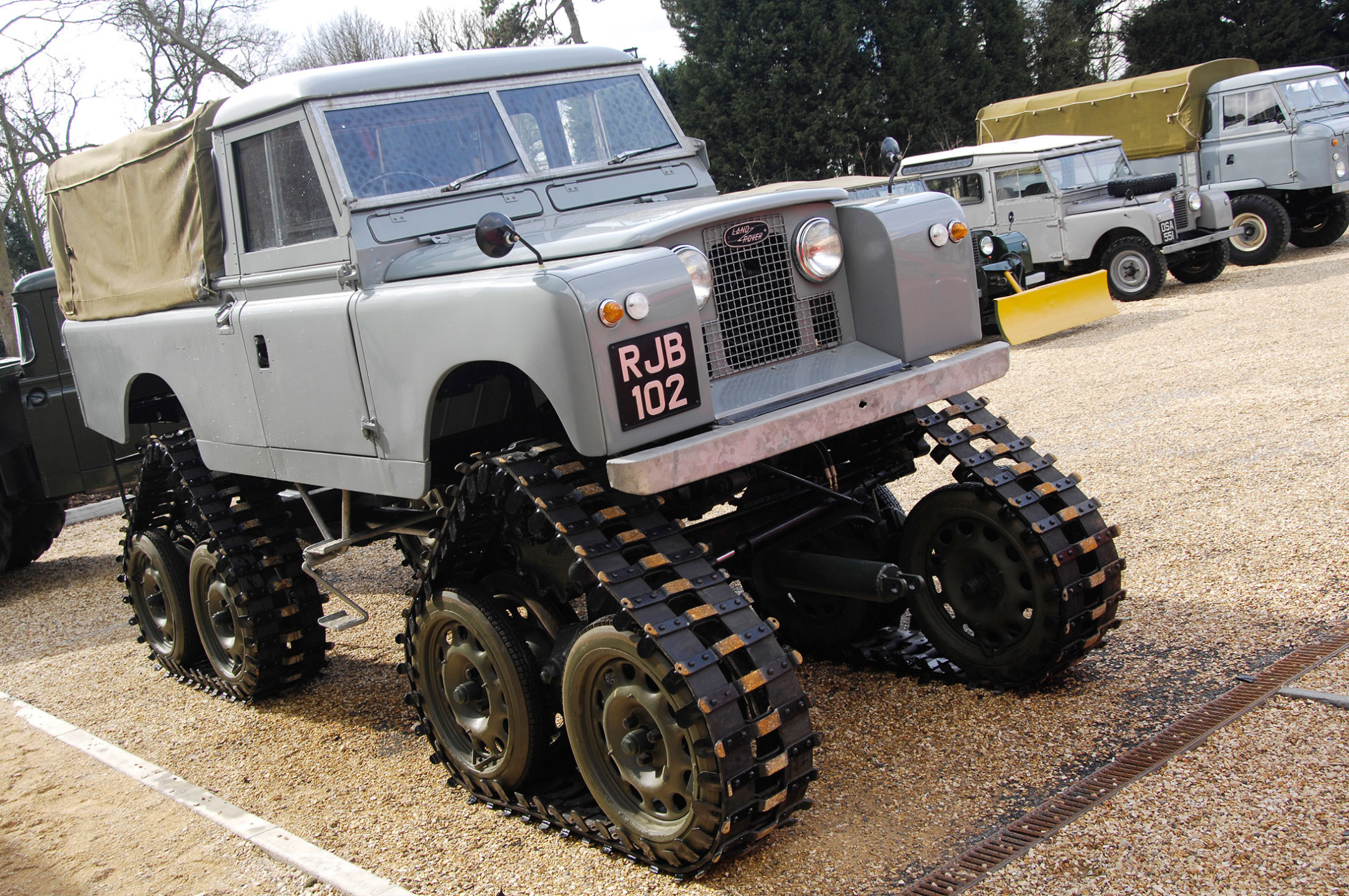 Land Rover Defender Photo History Bloomberg