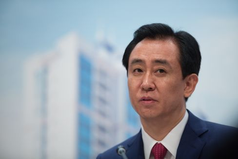 Evergrande Real Estate Billionaire Chairman Hui Ka Yan