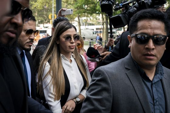 Chapo's Wife Held Without Bail After Arrest on U.S. Drug Charges