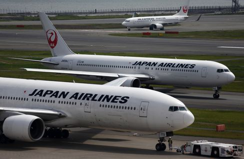 Japan Airlines Co. (JAL) aircraft