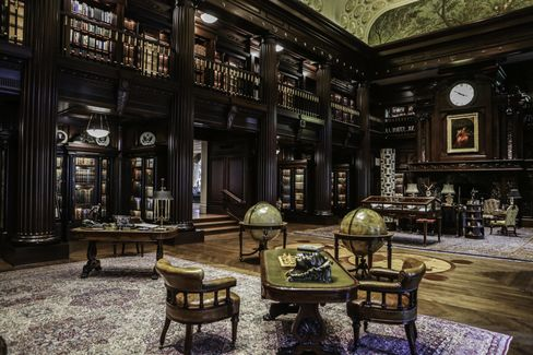Crow's private library