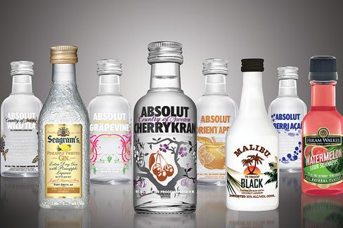 The Big Promotional Value of Liquor Mini-Bottles