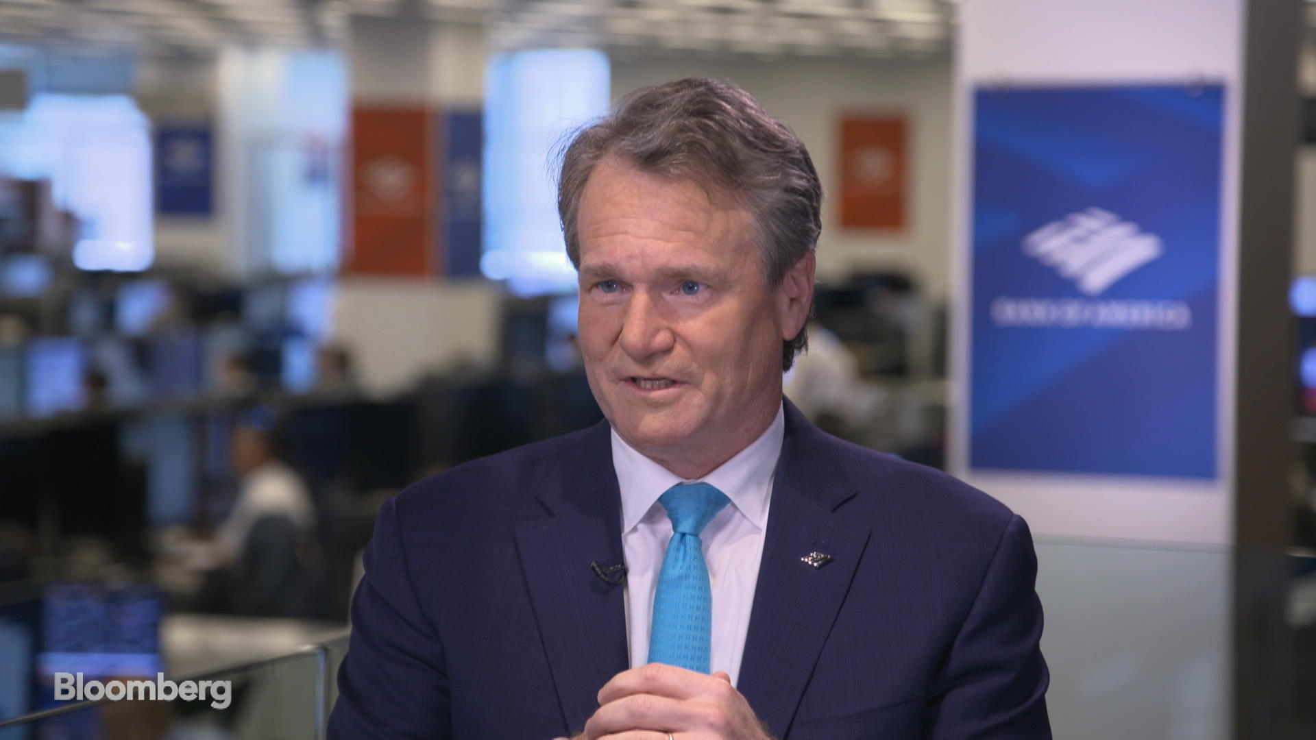Bank of America CEO Moynihan on the Economy, Recession Risks and Trade