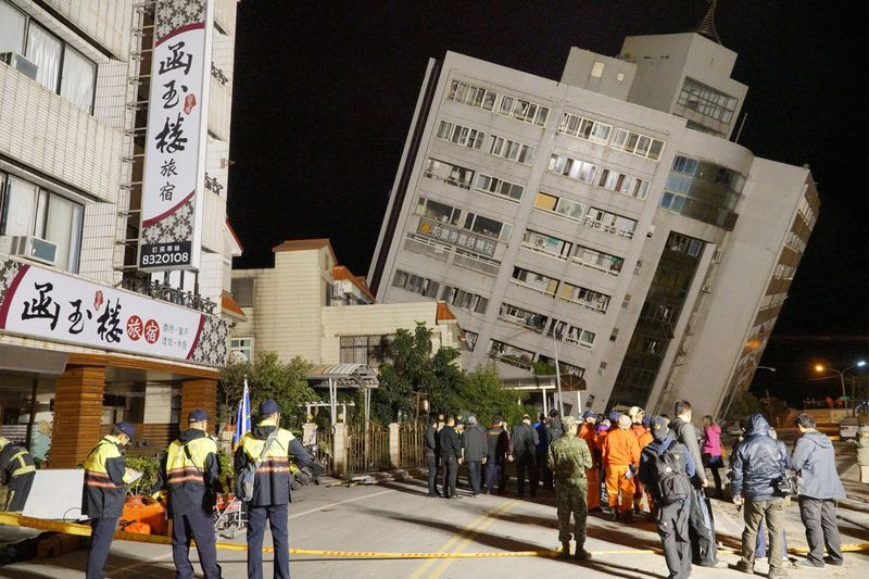 Image result for Most of the missing after earthquake in Taiwan has already been rescued