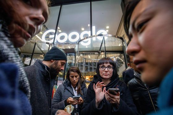 Google Workers Stage Mass Walkout to Protest Handling of Sexual Misconduct