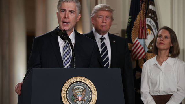 Fellow Clerks Push Gorsuch Confirmation