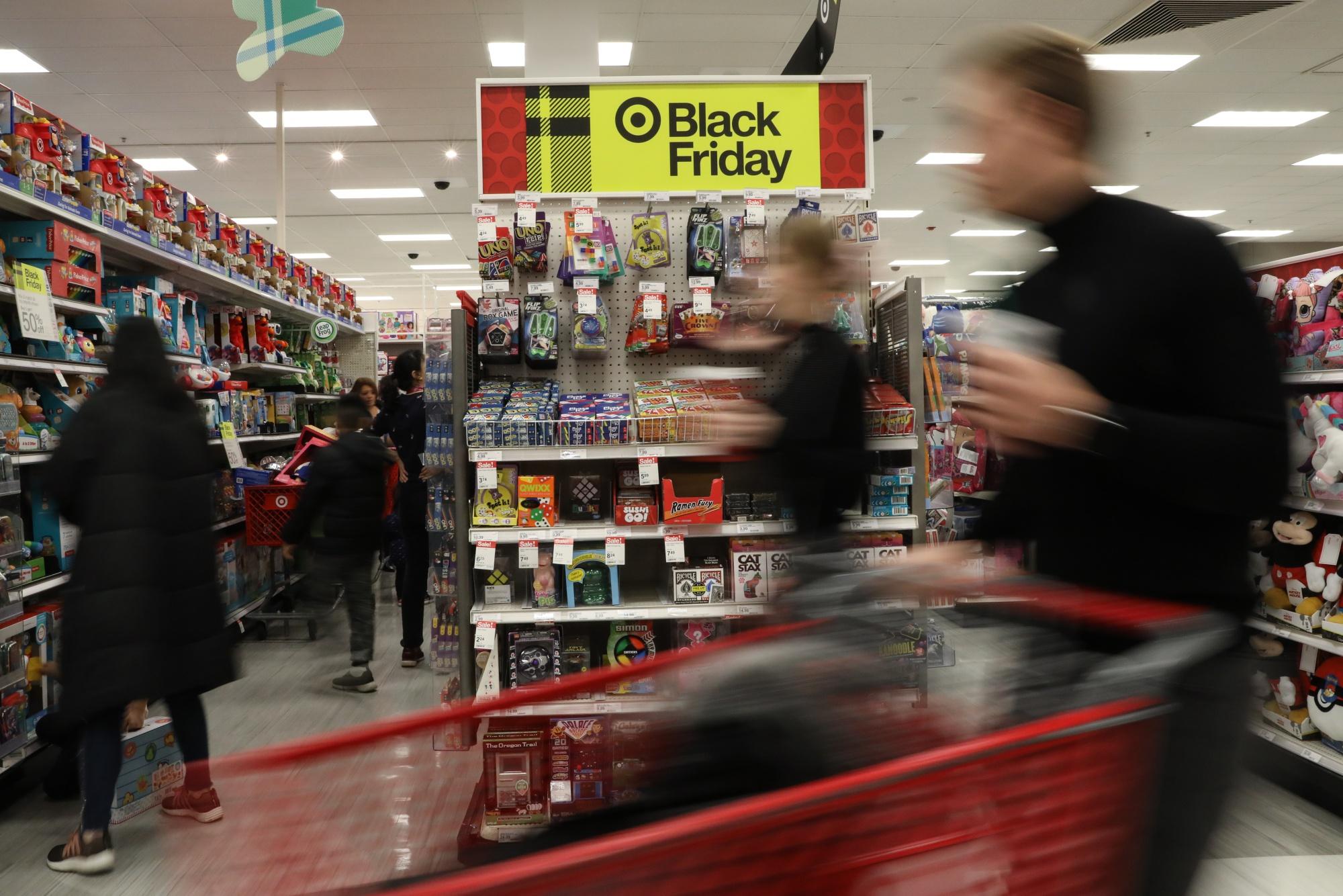 Black Friday Target Best Buy Walmart Lulu Win With Big Deals Bloomberg
