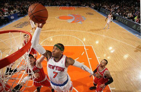 Knicks Player Carmelo Anthony