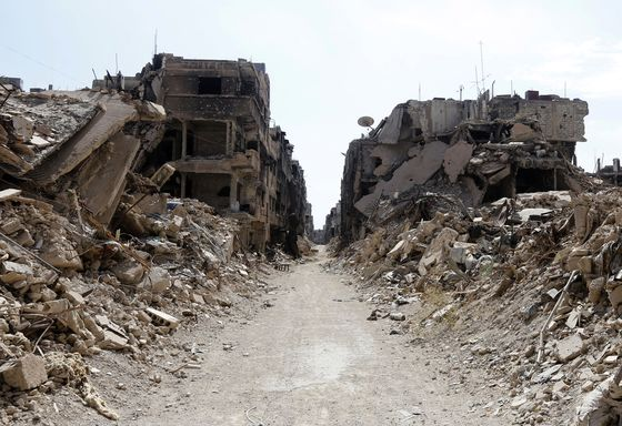 Syria Says U.S. Allies Won't Help With Reconstruction