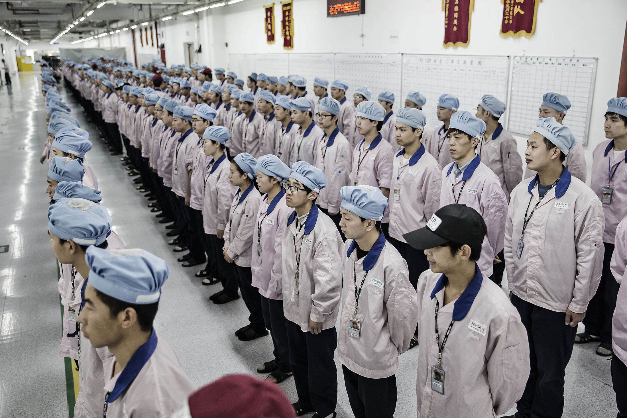 Inside One of the World's Most Secretive iPhone Factories - Bloomberg