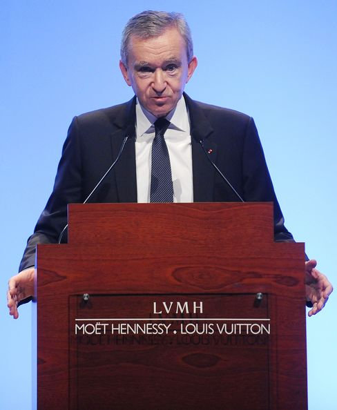 LVMH Chief Executive Officer Bernard Arnault