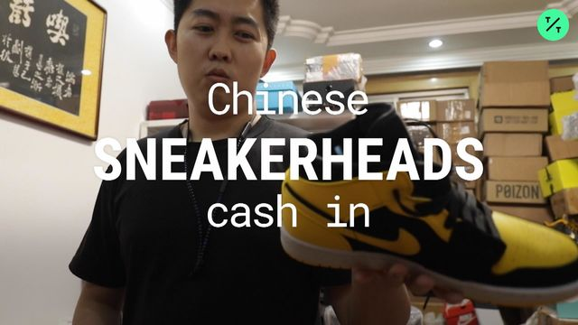 China Sneakerheads Chase 6,600% Returns Flipping Air Jordans