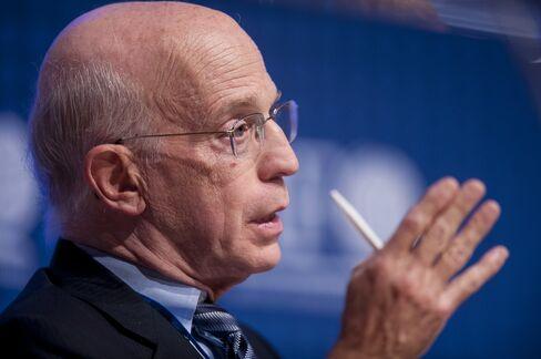 Princeton University Economist Alan Blinder