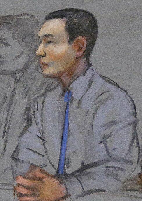 Convicted Azamat Tazhayakov