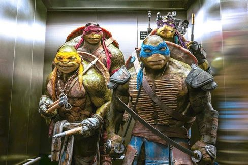 What the Successful Teenage Turtles Relaunch Means for Hollywood